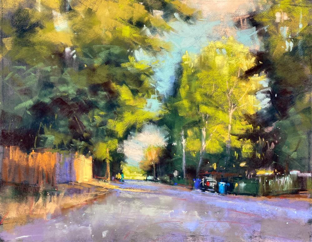 """""""In the Neighborhood"""" original fine art by Marla Baggetta"""