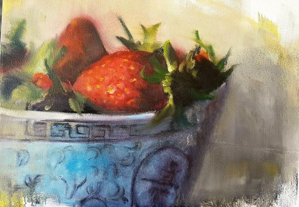 """Sweetness"" original fine art by Rentia Coetzee"