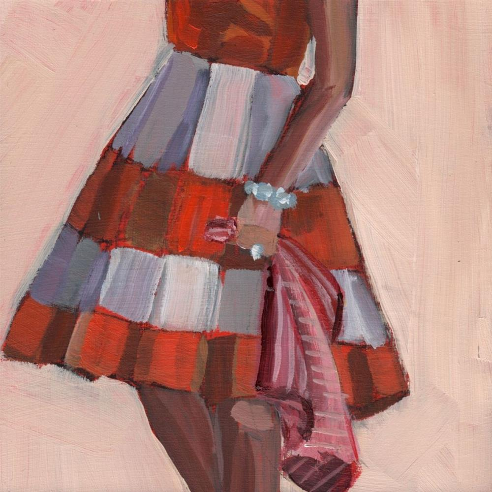 """The Cleaner (#375)"" original fine art by Debbie Miller"