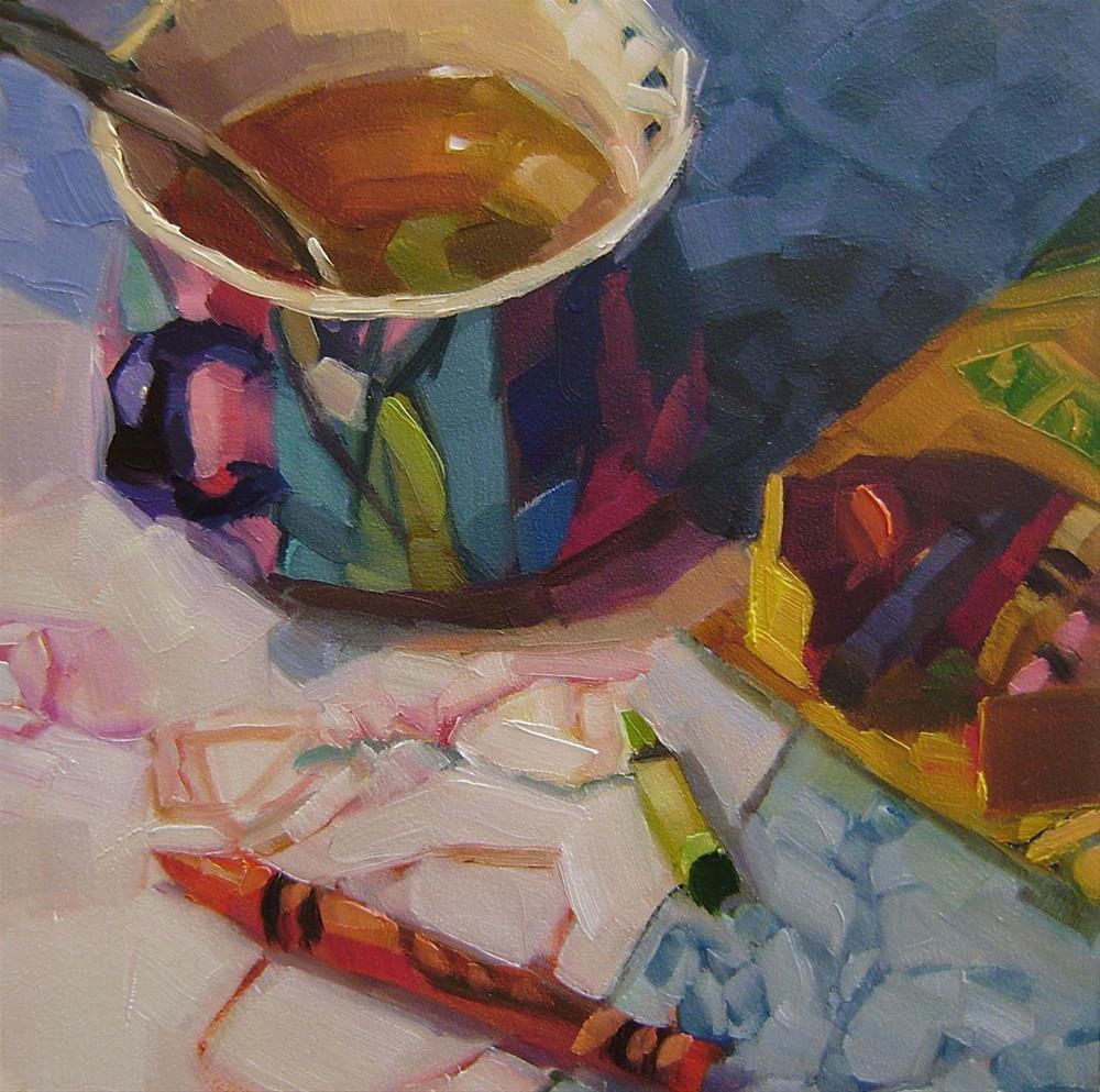 """Coloring"" original fine art by Holly Storlie"