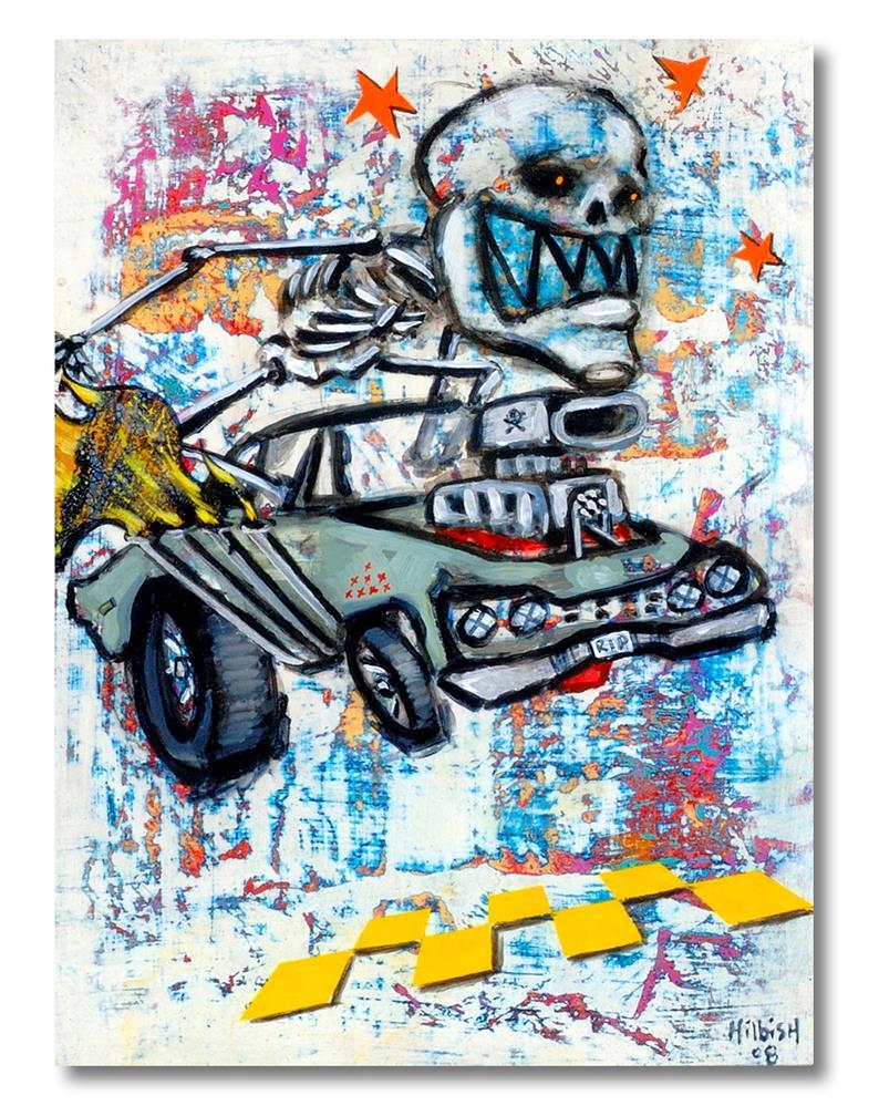 """Race"" original fine art by Matthew Hilbish"