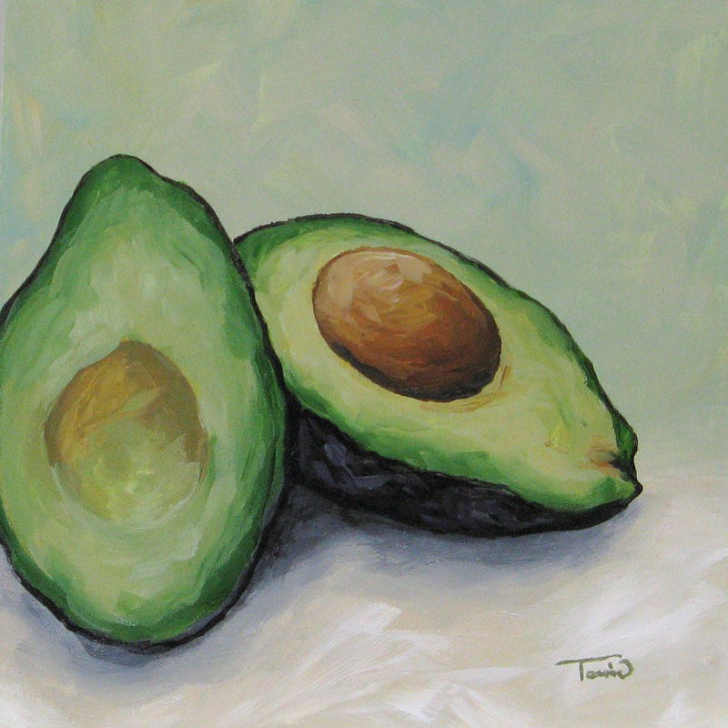 """Avocado"" original fine art by Torrie Smiley"