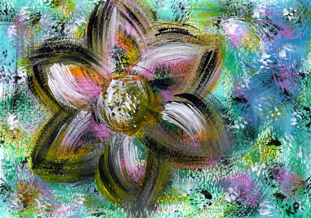 """""""The Gift of Giving"""" original fine art by Kali Parsons"""