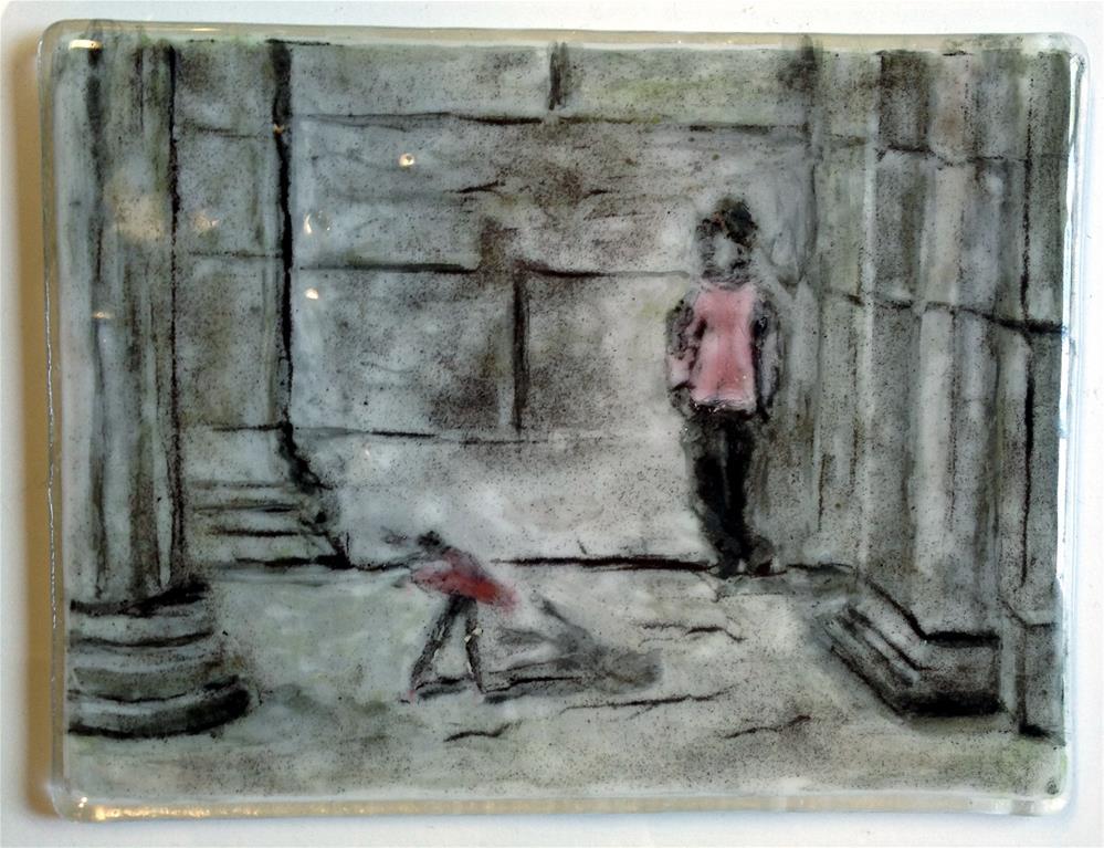 """Tiny Dreams"" original fine art by Kristen Dukat"