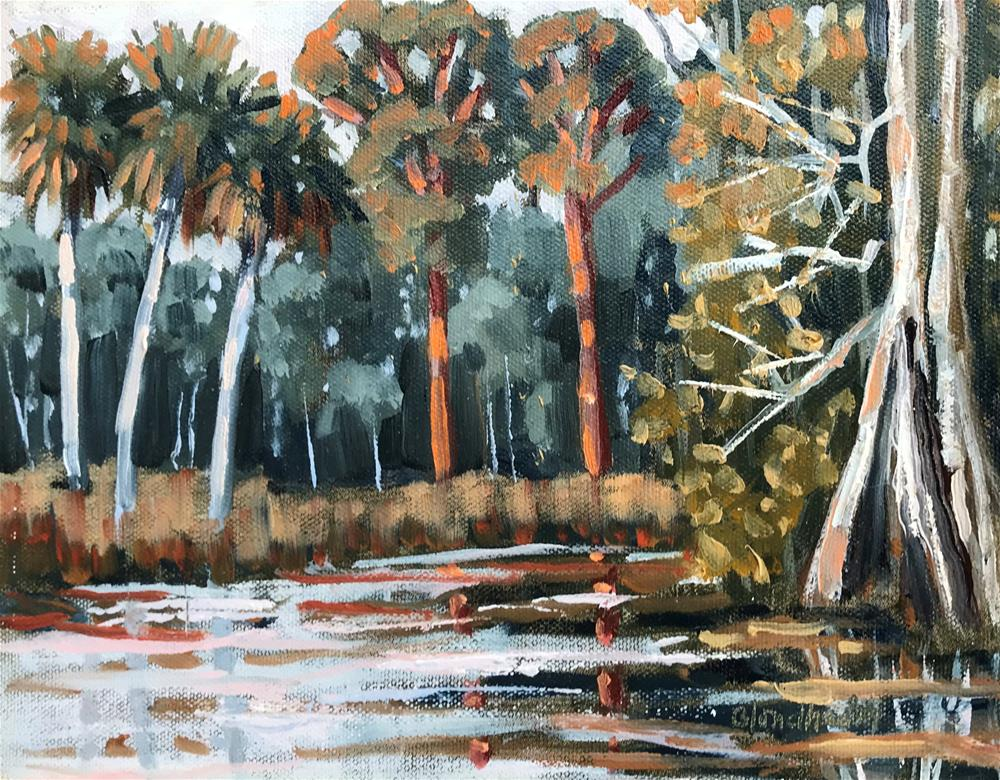 """Afternoon Pines"" original fine art by Linda Blondheim"