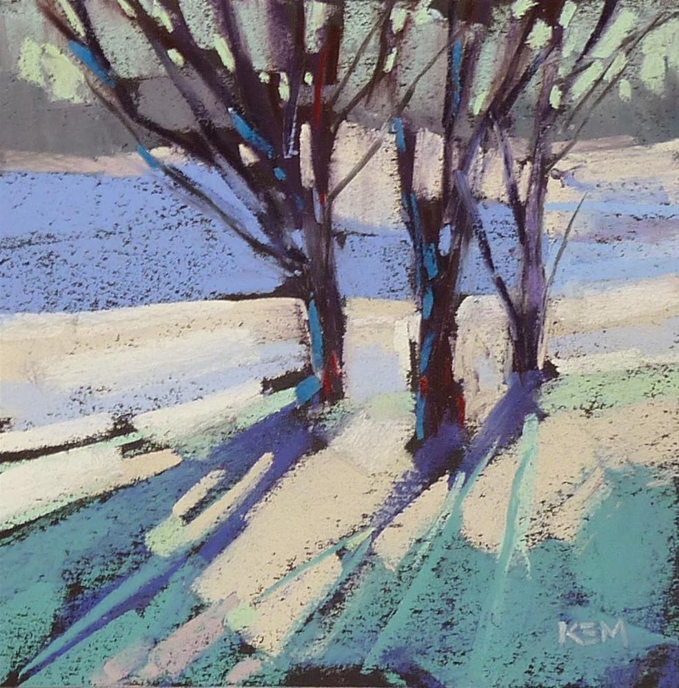 """The Secret to a Good Painting"" original fine art by Karen Margulis"