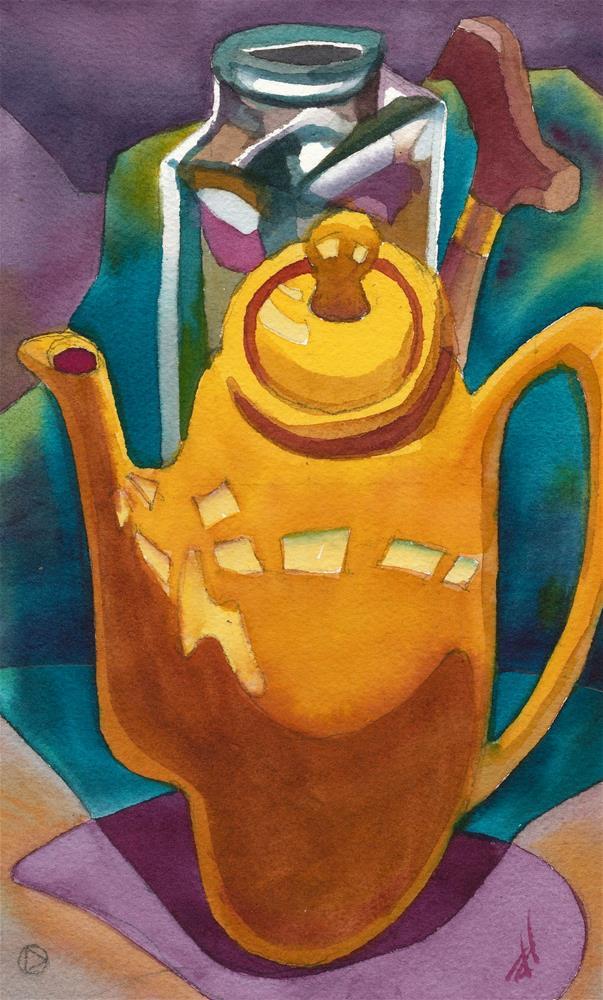 """Cubist Still Life"" original fine art by Mark Allison"