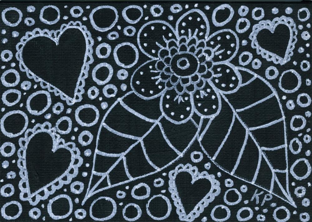 """""""It Means Love"""" original fine art by Kali Parsons"""