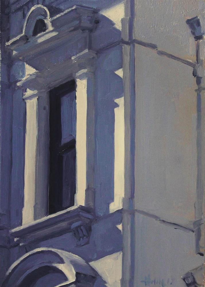 """Window"" original fine art by Ski Holm"