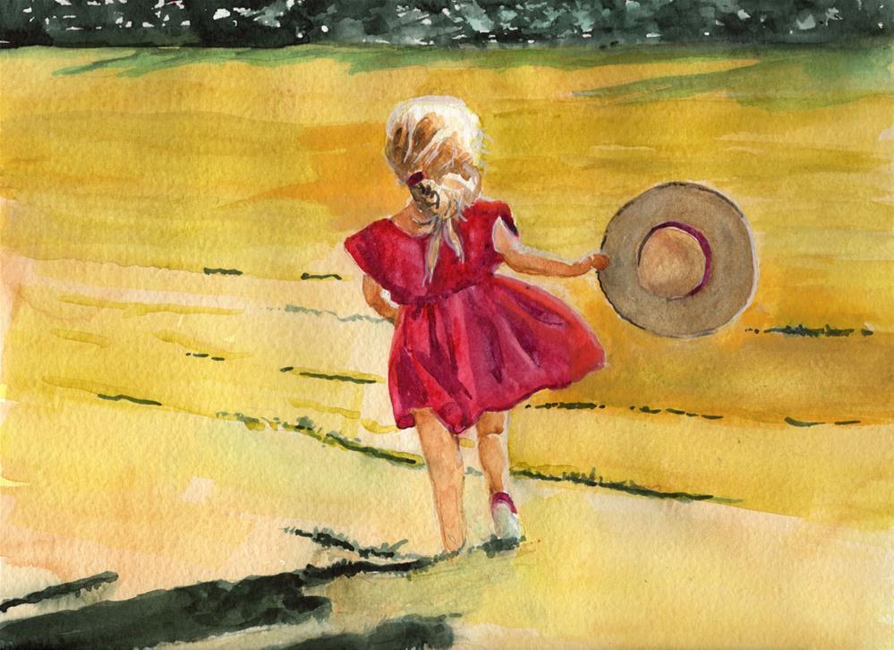 """Running Free"" original fine art by Bunny Griffeth"