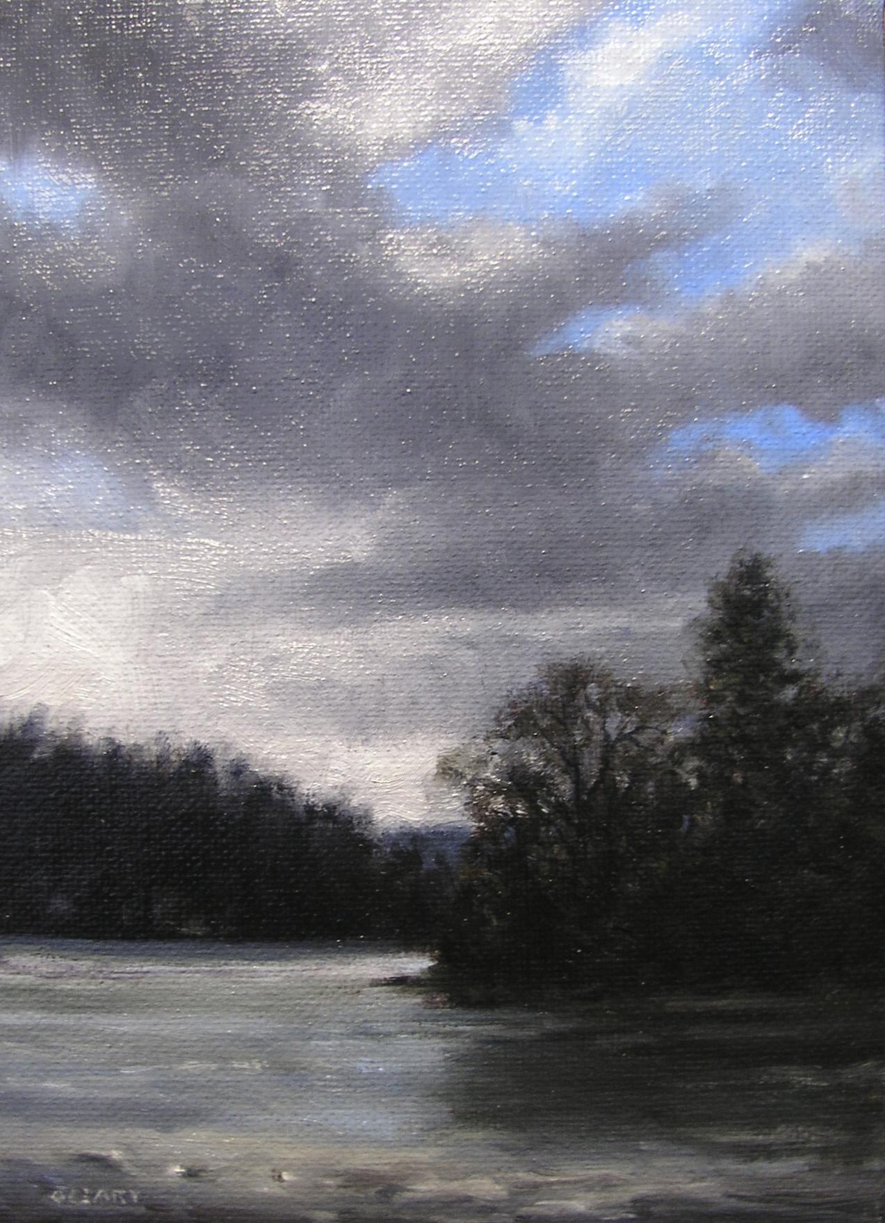 """LP2 Around Dove Island"" original fine art by Danny O'Leary"