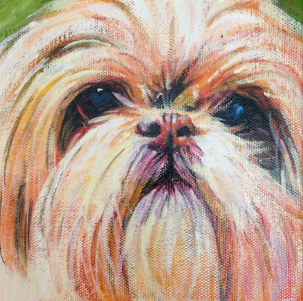 """Abby"" original fine art by Debbie Yacenda"