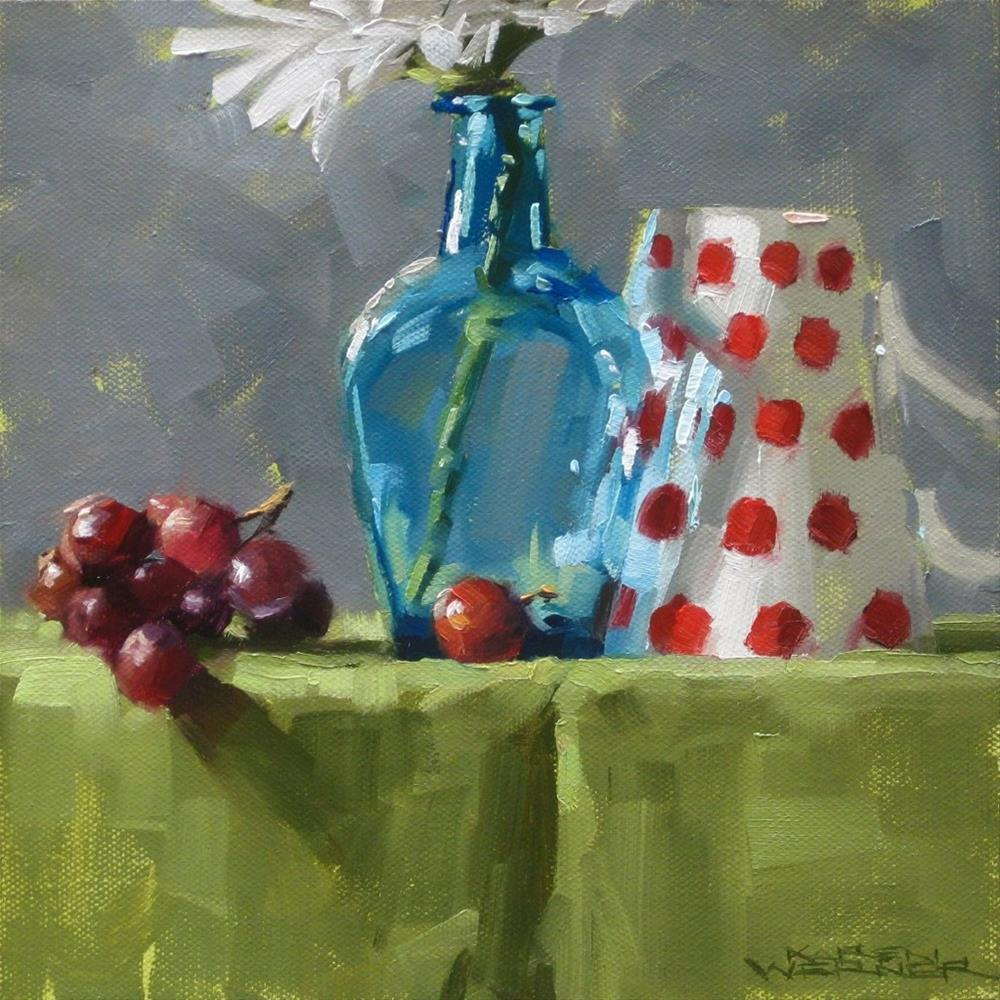 """Grapes & Stuff"" original fine art by Karen Werner"