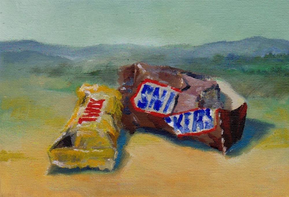 """candy"" original fine art by Mark DeBak"