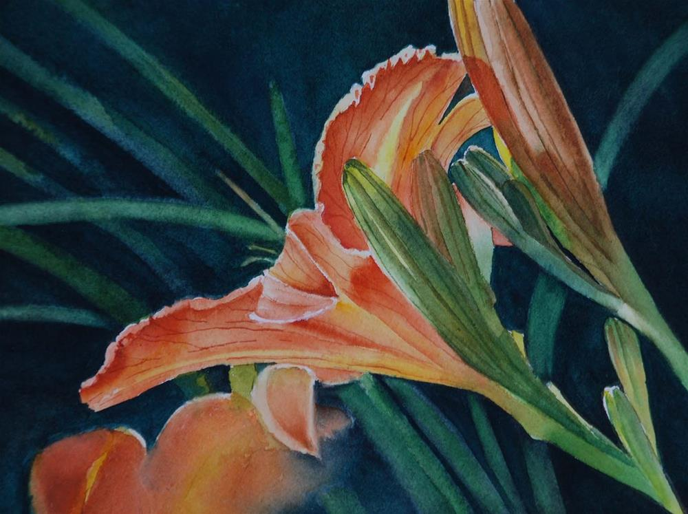 """""""Waiting"""" original fine art by Mary Anderson"""