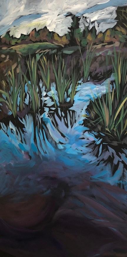 """Darker Depths"" original fine art by Kat Corrigan"