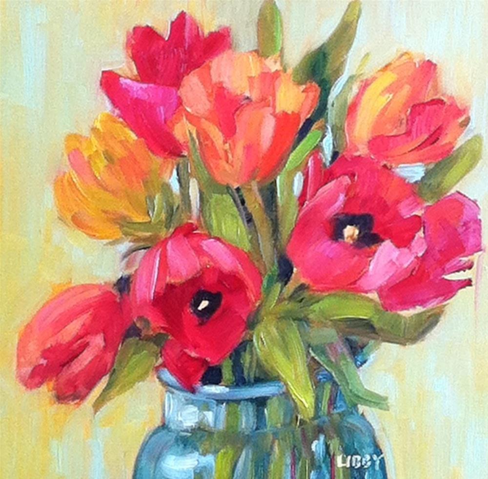 """April 8"" original fine art by Libby Anderson"