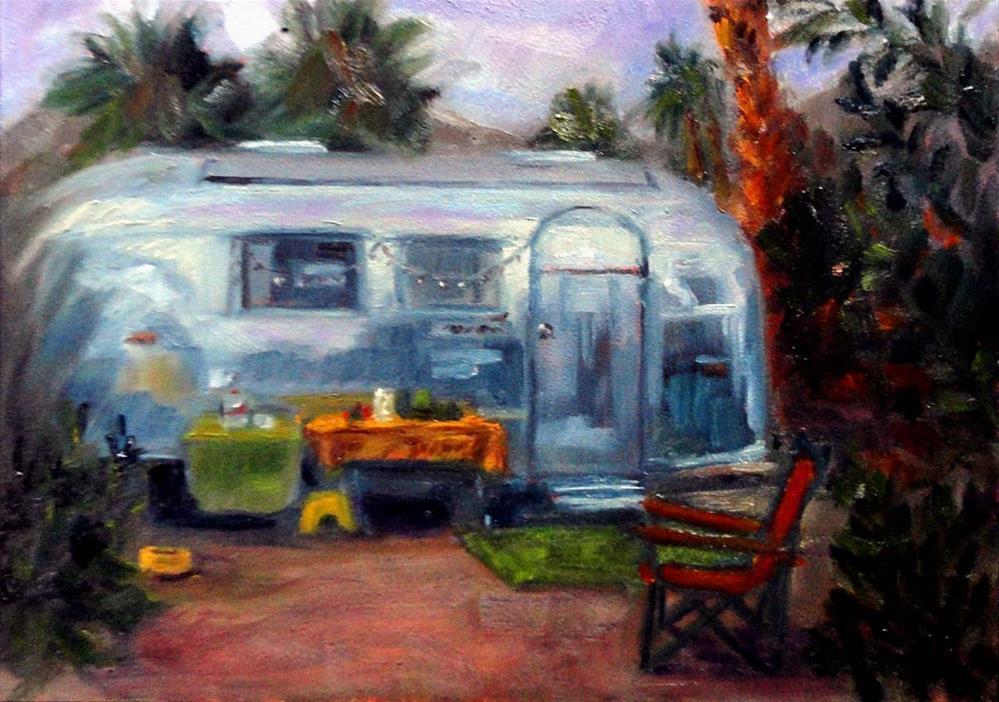 """Home Away From Home"" original fine art by Cietha Wilson"