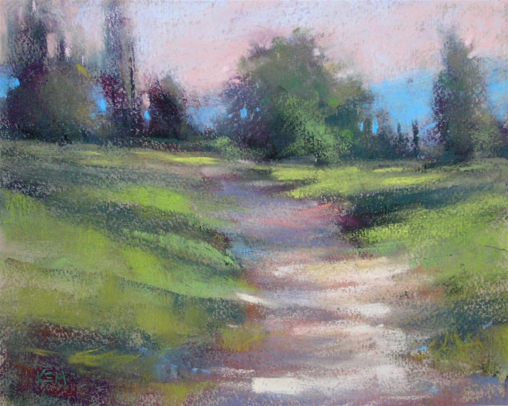 """""""Early Morning landscape"""" original fine art by Karen Margulis"""