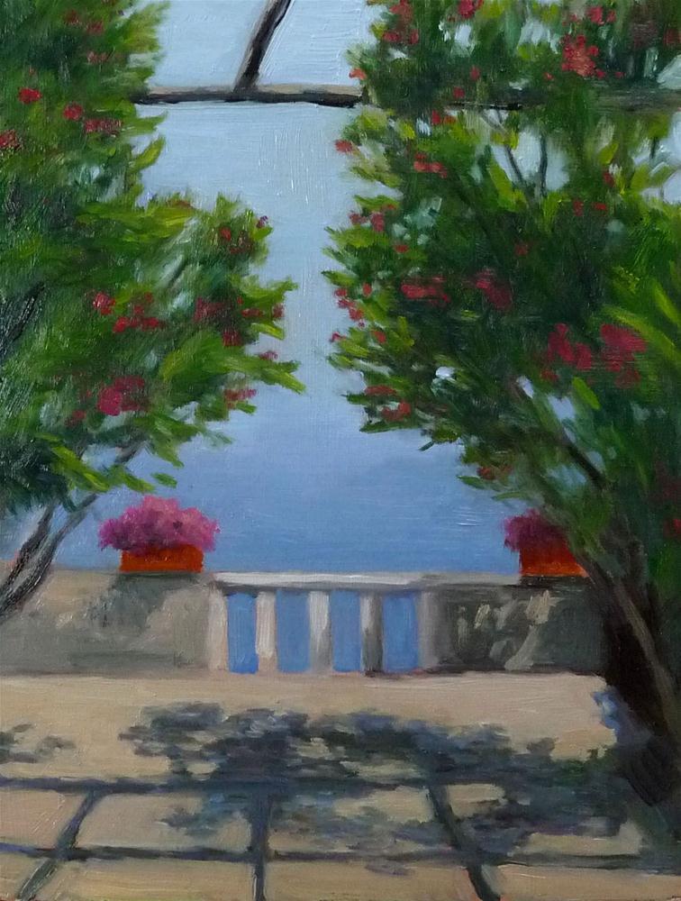 """Infinity, Ravello"" original fine art by Lisa Kyle"