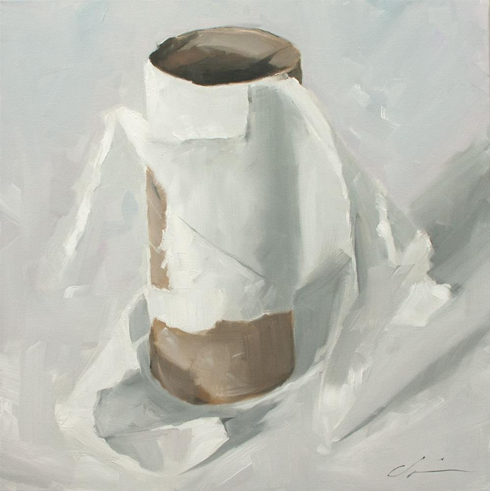 """TP or not TP"" original fine art by Clair Hartmann"