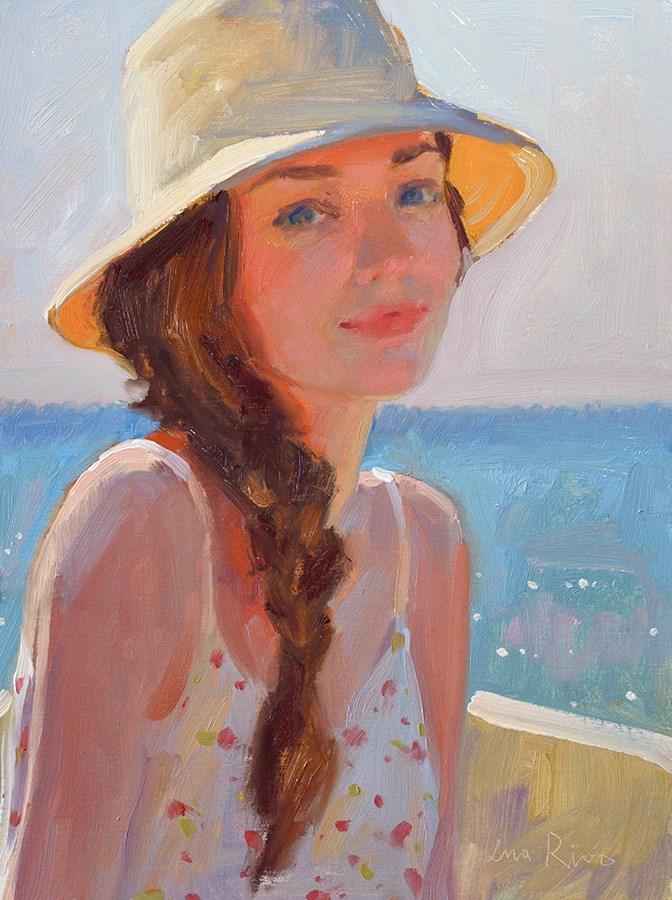 """A Summer Afternoon"" original fine art by Lena Rivo"