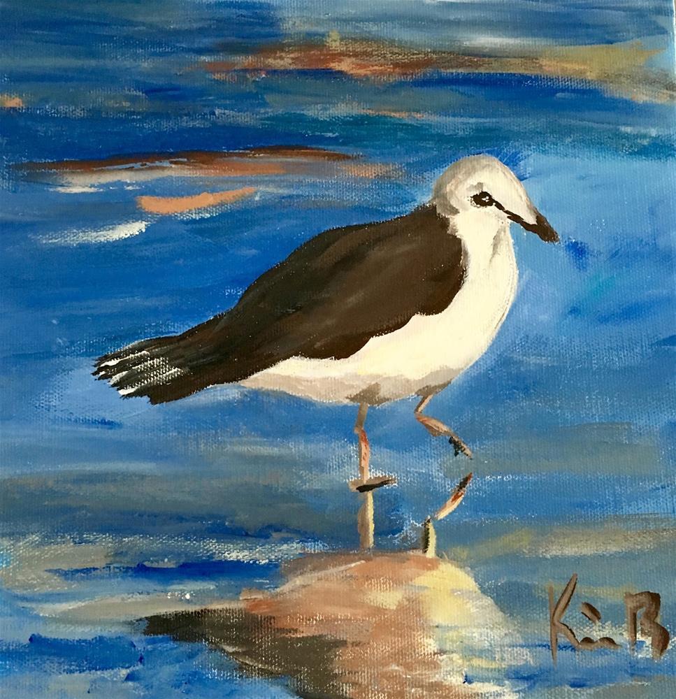 """My Reflection"" original fine art by Kimberly Balentine"