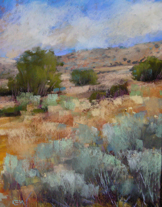 """My Six Favorite Paintings of 2011... #4 Desert Dreams"" original fine art by Karen Margulis"