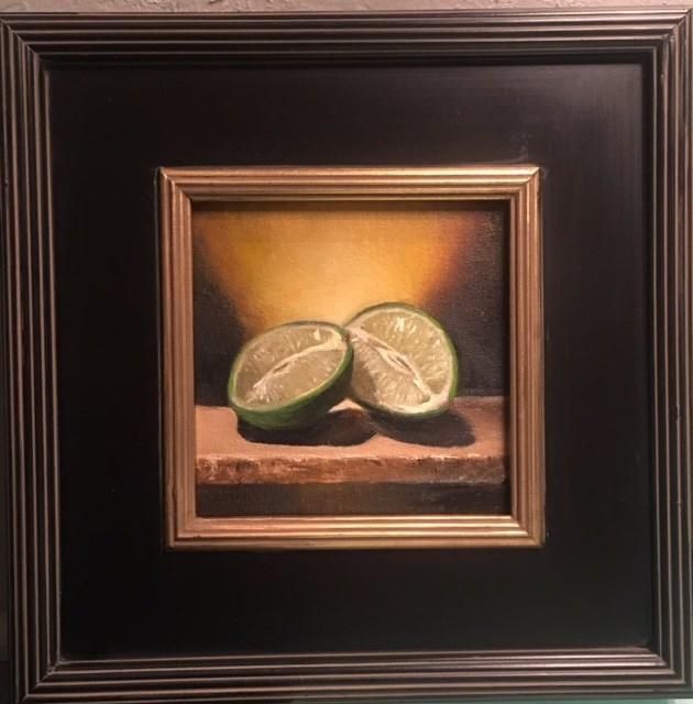 """TOGETHER"" original fine art by Cheryl J Smith"