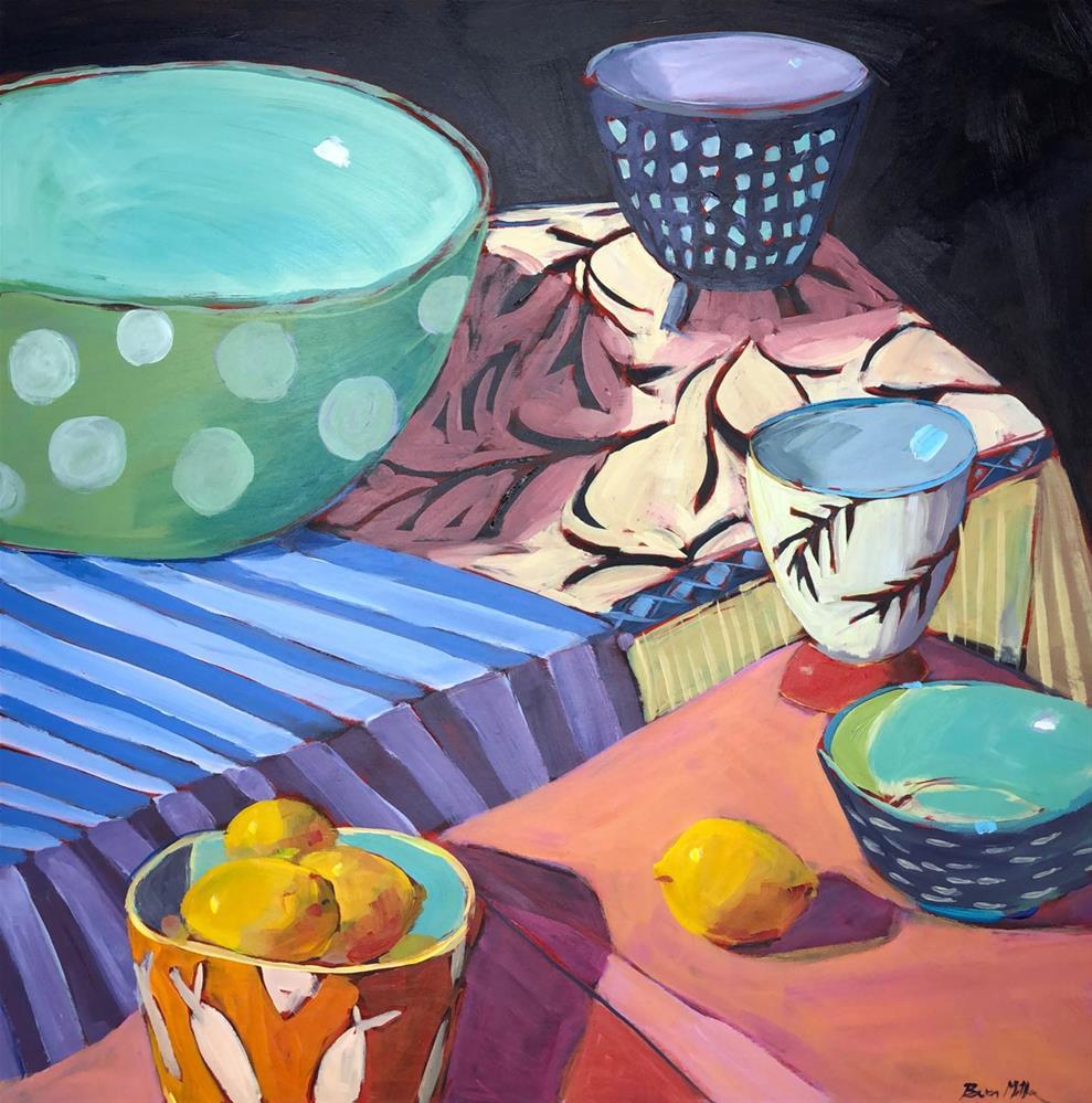 """1186: A Full House"" original fine art by Brian Miller"
