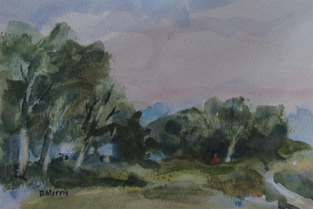 """Back in the Woods"" original fine art by Dann Morris"
