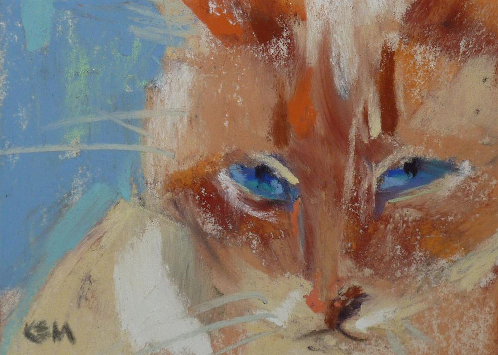 """Sweet Ginger"" original fine art by Karen Margulis"