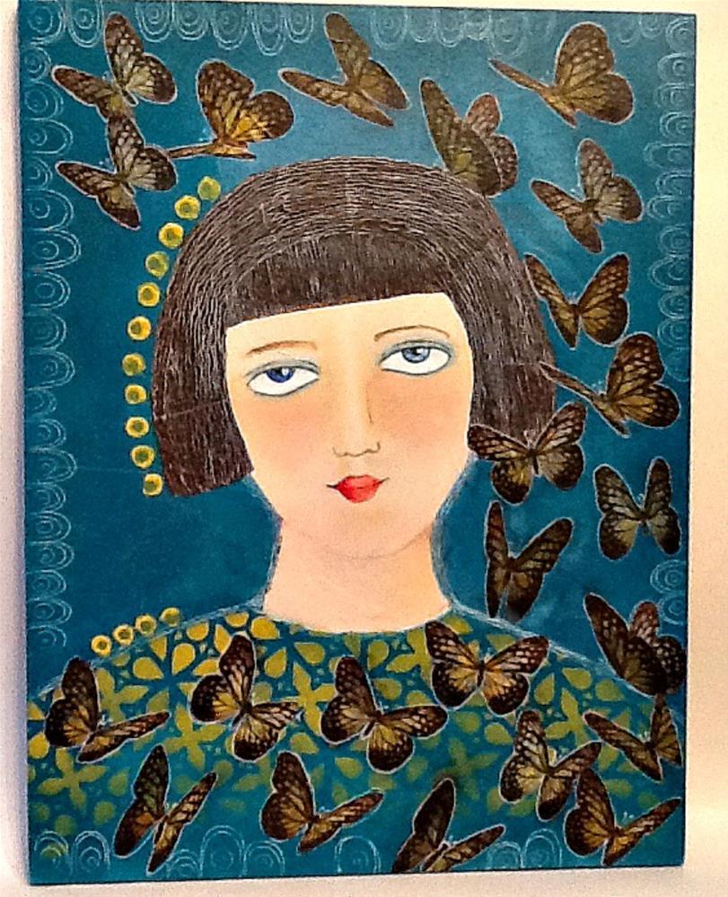 """""""STILL BECOMING"""" original fine art by Cindy Zoglmann"""