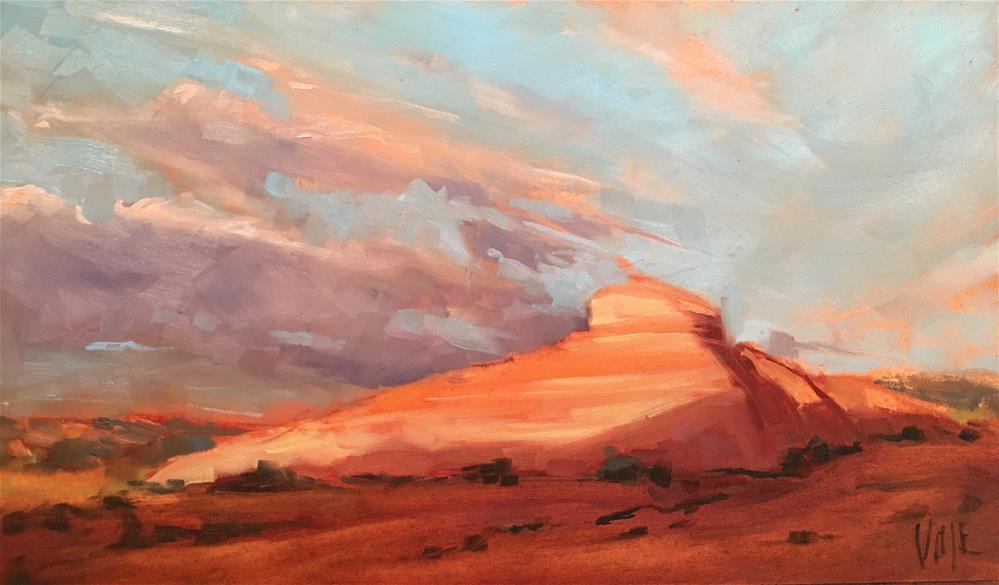 """""""#337 Desert Sky"""" original fine art by Patty Voje"""