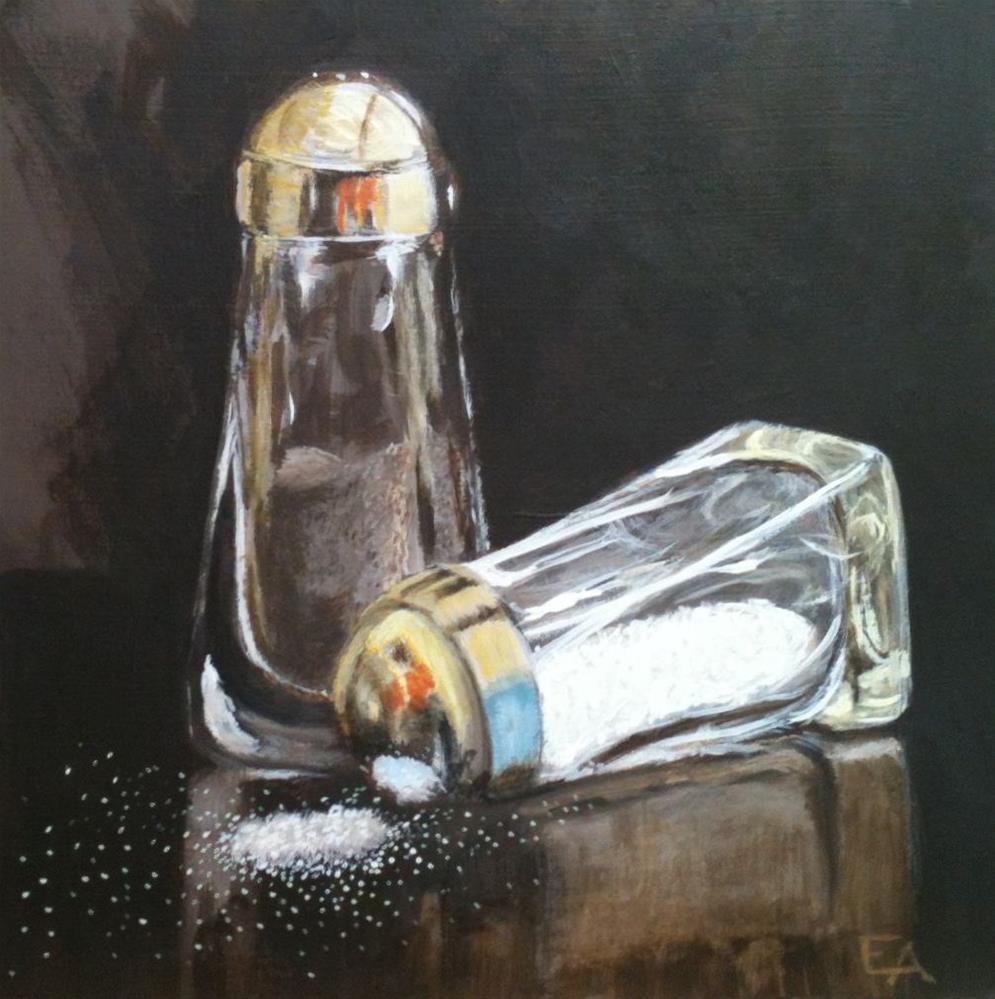 """""""Salt 'n Pepper"""" original fine art by Elizabeth Elgin"""