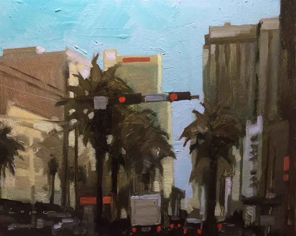 """Canal Street, New Orleans"" original fine art by Chris Long"