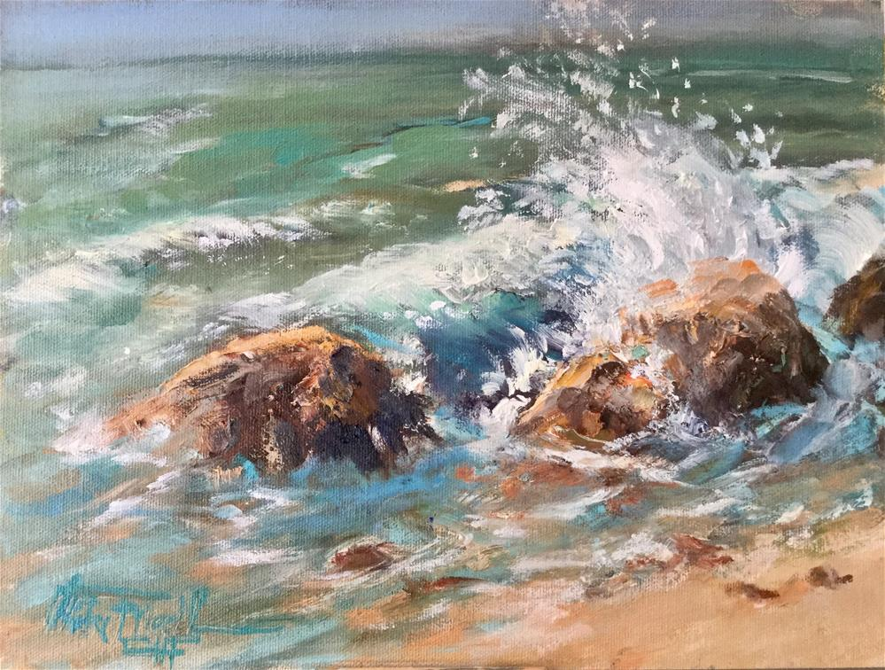 """Splash"" original fine art by Christa Friedl"