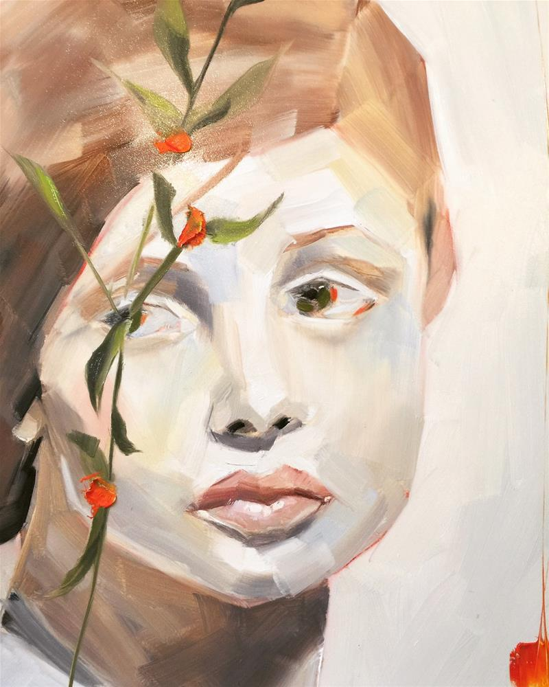 """465 Like a Natural Woman"" original fine art by Jenny Doh"