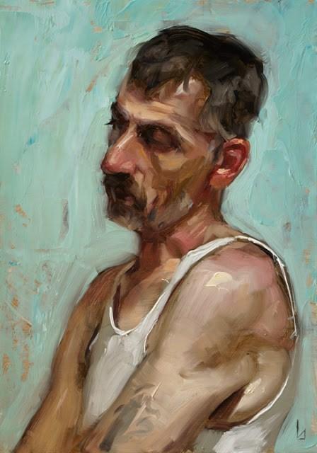 """Fatigue"" original fine art by John Larriva"