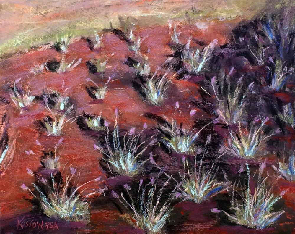 """Chilean Lavender"" original fine art by Cristine Kossow"