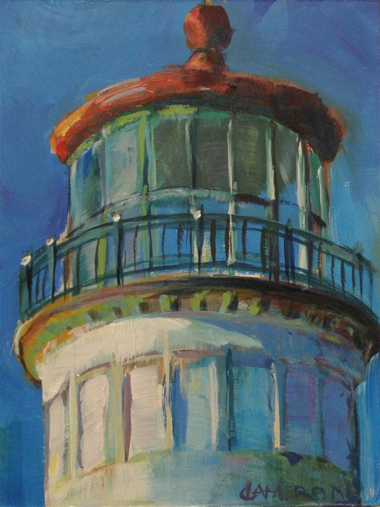 """NORTH HEAD LIGHTHOUSE"" original fine art by Brian Cameron"