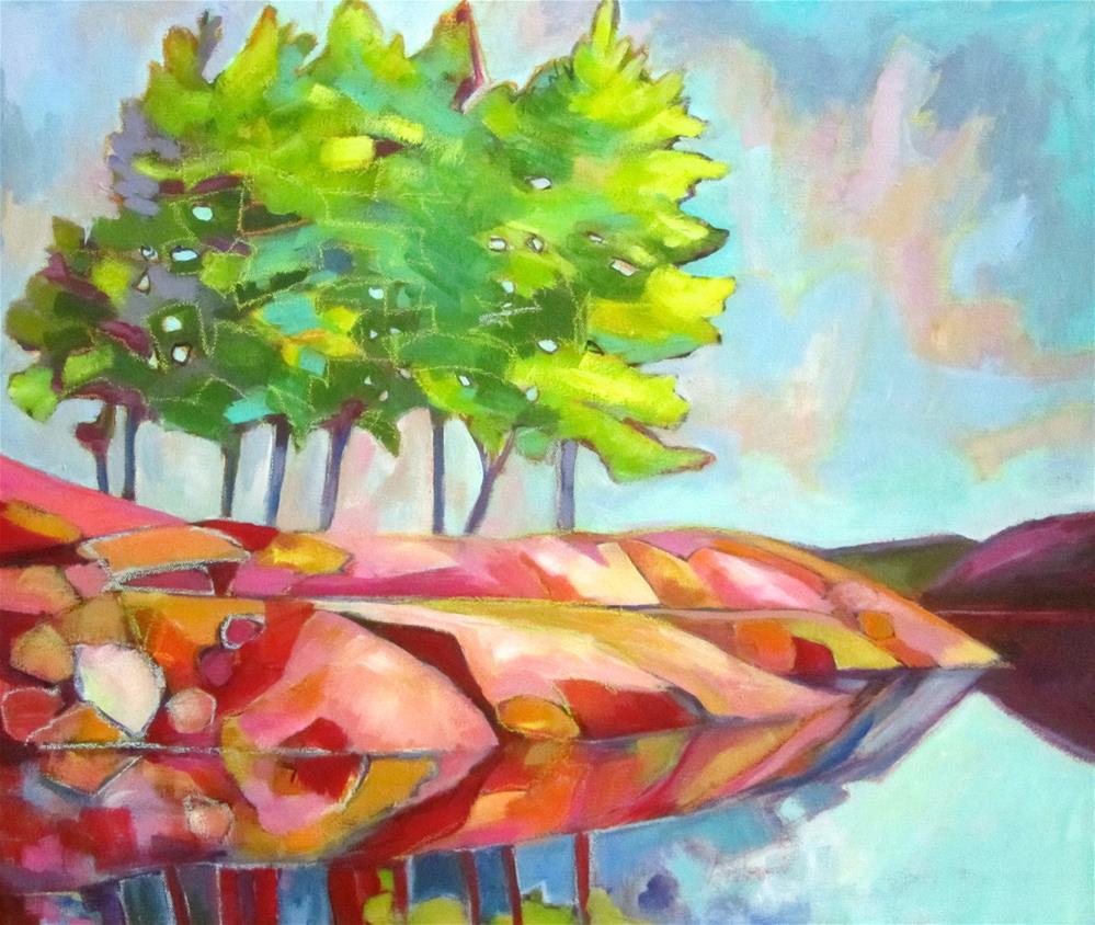 """Still Waters Run Deep"" original fine art by Patricia MacDonald"