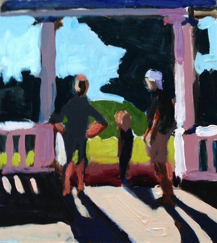 """Pink Morning Light"" original fine art by Pamela Hoffmeister"