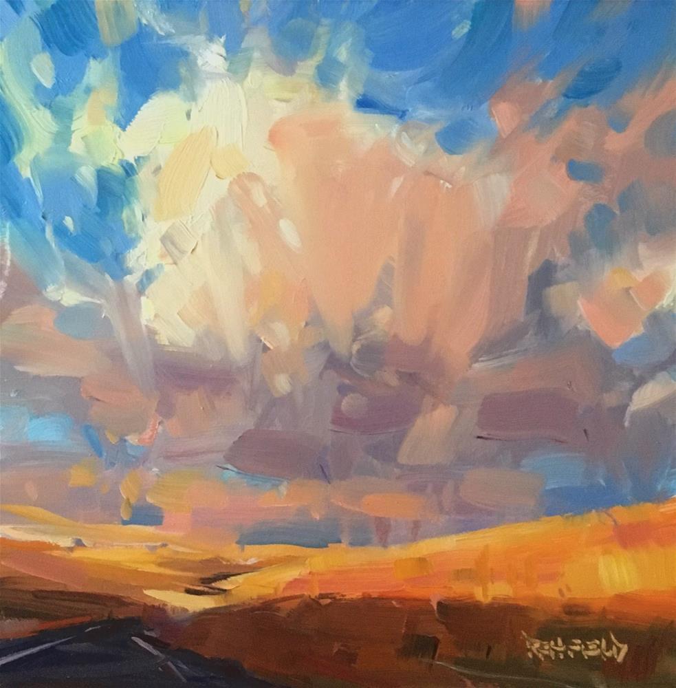 """Roadtrip"" original fine art by Cathleen Rehfeld"