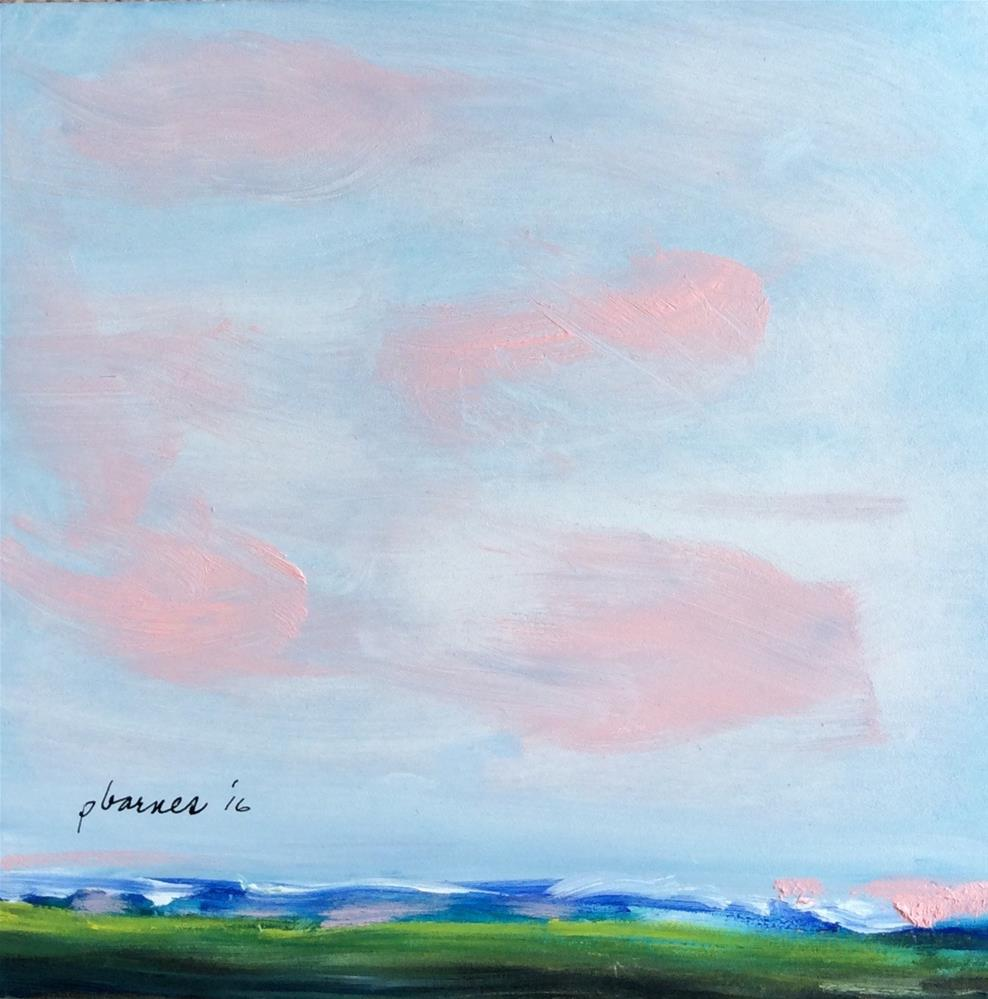 """Along the Way"" original fine art by Patty Barnes"