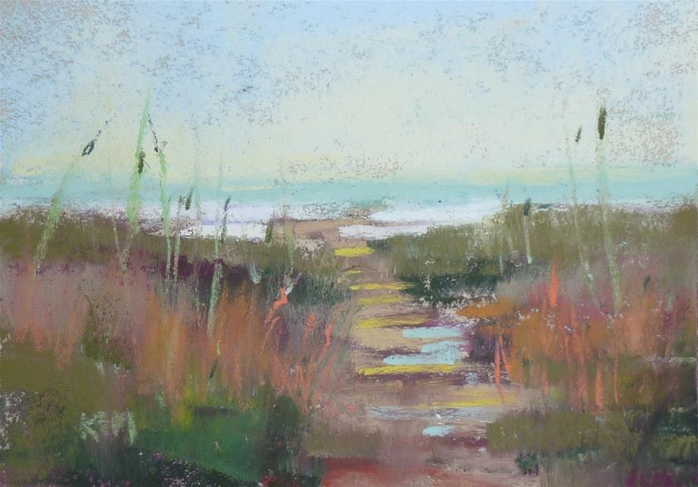 """""""Thoughts on Painting Small"""" original fine art by Karen Margulis"""