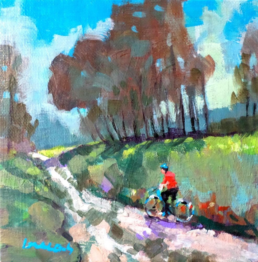 """""""The path"""" original fine art by salvatore greco"""