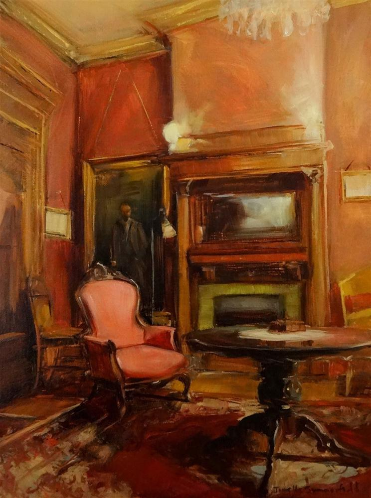 """""""Drawing Room II"""" original fine art by Jonelle Summerfield"""