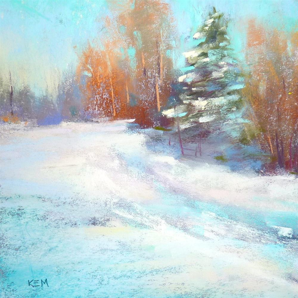 """'Winter Delight'"" original fine art by Karen Margulis"