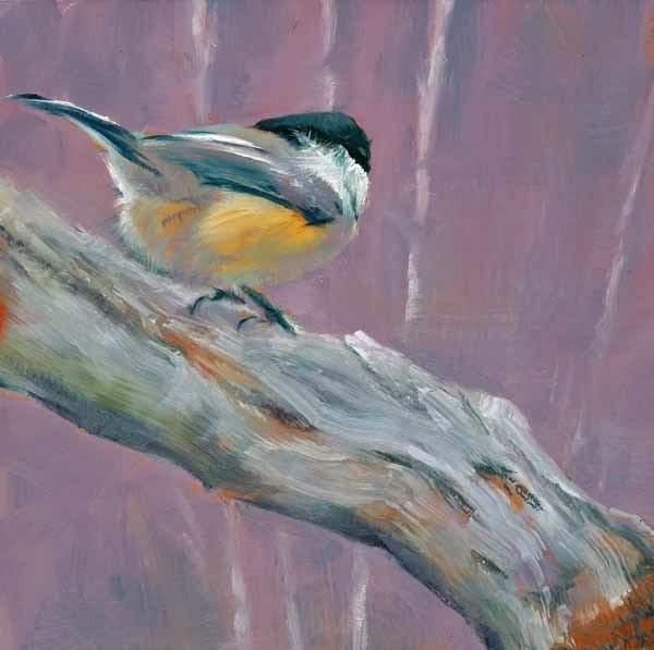"""Cool Chick"" original fine art by Brenda Ferguson"